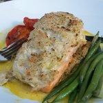 salmon...light and fresh
