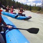 White water canoe trip