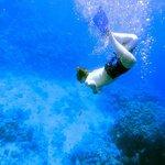 Ныряние на рифе