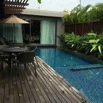 2 rooms Villa private pool