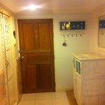 Doorway to the room on second storey