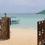 Beach from gate