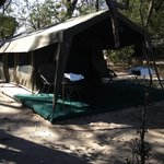 Tent at Footsteps