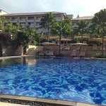 couryard pool