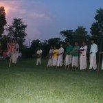 Tribe group Tharu Dance