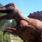 Dinosaurs of Spanish Town, Half Moon Bay, Ca