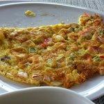 สั่งไข่เจียว ก็ทำให้แฮะ สุดยอด มื้อเช้า