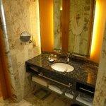 athroom basin.