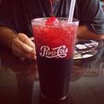 Cherry Smash! My favorite drink only available here! Give it a try!