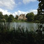 Sherborne Castle from the lake