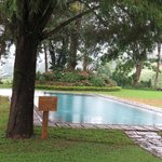 Ceylon Tea Trails (Aug 2013): Newly extended pool at Castlereagh Bungalow