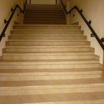 Stairs to 1st Floor Deluxe Rooms