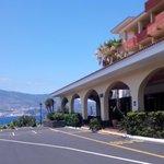 Entrada hotel Taburiente