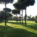 территория отеля Gloria Golf