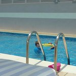 Rooftop pool a hit with the kids