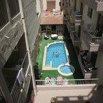 Downstairs pool