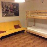 stanze da letto e living