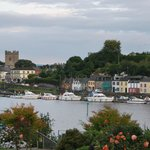 View from hotel garden over the Shannon