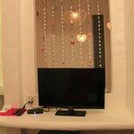 Decor in Honeymoon suite