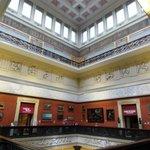 harris museum ceiling
