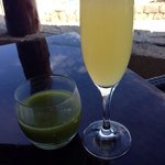 Mimosa and detox juice