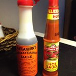 Cheap sauces... come on!