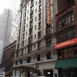 Front facade west 35th street