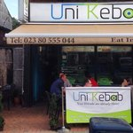 Enjoy your lunch in our new outside area