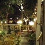 Terrace and terrace restaurant