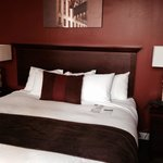 Lovely room.   Comfy bed