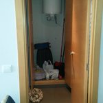 Storage Cupboard inside Bedroom