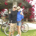 Jennifer and David Beach holidaying in the USA 2013 ...