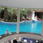 one of the swim up bars