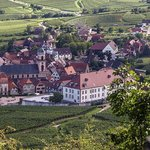 Val-Vignes vue du vignoble