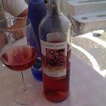 ottimo rosè locale