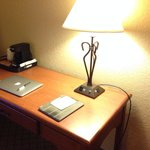 Like new work desk and furnishings at the Kearney Best Western. Photo by Terry Hunefeld.