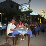 Our lovely meal at Agkyra Restaurant Kos Town