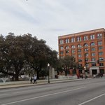 View of the Texas Book Depository