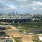 Overlooking the Olympic Park