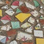 Majolika-Mosaik-Böden