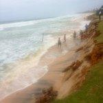 В последний день нашего отдыха (примерно 15.07.2014) пляж размыло и начало подмывать отель...((