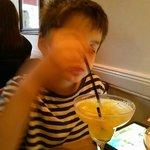 The non-alcoholic margarita!
