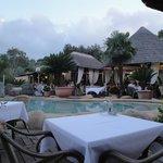 Restaurant - piscine