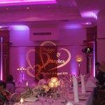 reception room lighting