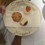 afternoon tea treat from chef