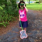 The nature center has nets and binoculars to get kids interested in discovery.