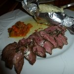 Lamb, cooked to perfection