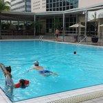 espectacular piscina!