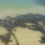 満潮と干潮で浜が様変わり
