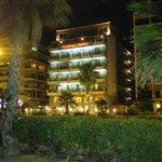 Hotel visto dalla strada